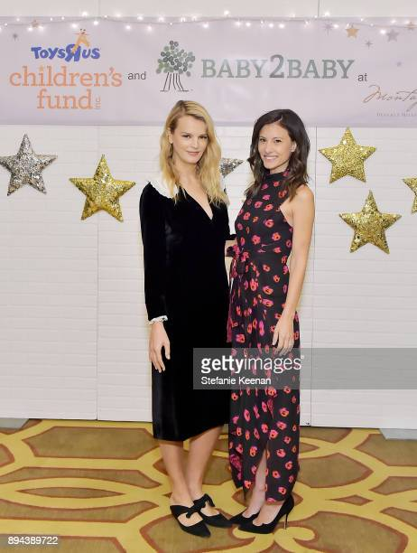 Kelly Sawyer Patricof and Norah Weinstein attend The Baby2Baby Holiday Party presented by Toys'R'Us at Montage Beverly Hills at Montage Beverly Hills...