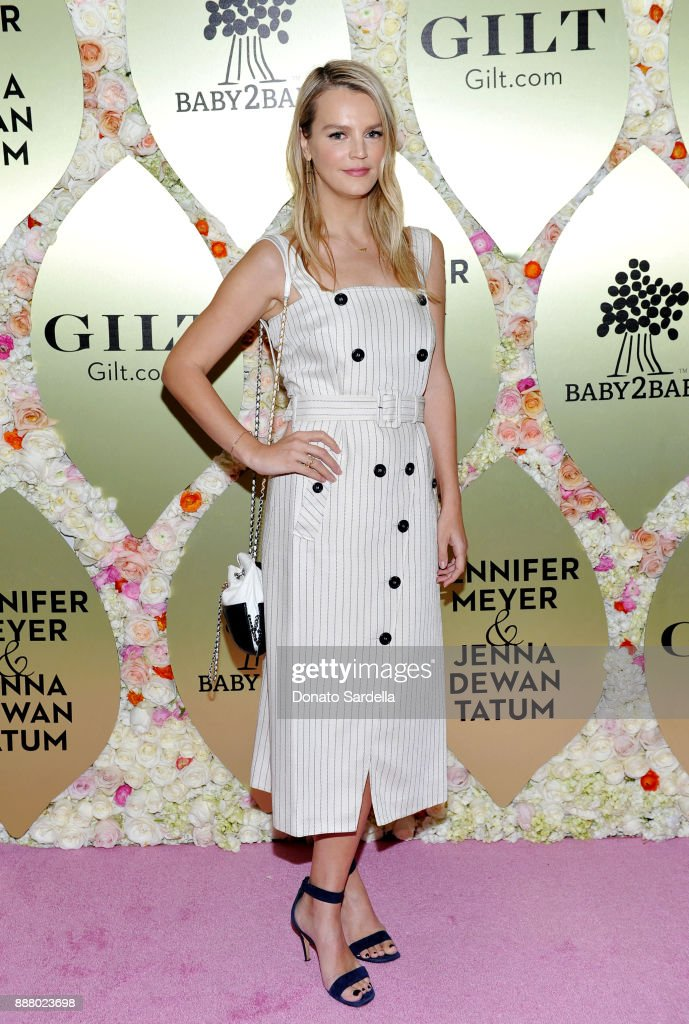Kelly Sawyer Patricof at Gilt.com, Jennifer Meyer & Jenna Dewan Tatum's Exclusive Jewelry Collection Launch Benefitting Baby2Baby at Sunset Tower Hotel on December 7, 2017 in West Hollywood, California.