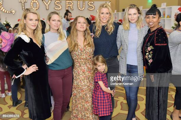 Kelly Sawyer Patricof Erin Foster Jennifer Meyer Sara Foster attends The Baby2Baby Holiday Party presented by Toys'R'Us at Montage Beverly Hills at...