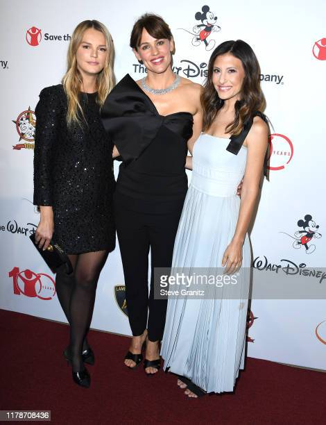 Kelly Sawyer Patricof Jennifer Garner and Norah Weinstein arrives at the Save the Children's Centennial Celebration Once In A Lifetime Presented By...