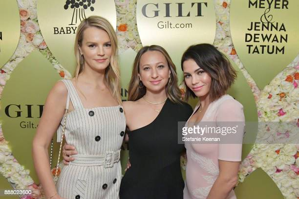 Kelly Sawyer Patricof Jennifer Meyer and Jenna Dewan Tatum attend Giltcom Jennifer Meyer Jenna Dewan Tatum Launch Exclusive Jewelry Collection...