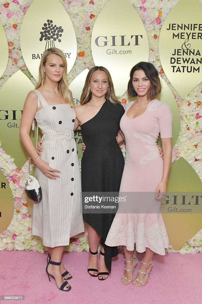 Kelly Sawyer Patricof, Jennifer Meyer and Jenna Dewan Tatum attend Gilt.com, Jennifer Meyer & Jenna Dewan Tatum Launch Exclusive Jewelry Collection Benefitting Baby2Baby at Sunset Tower Hotel on December 7, 2017 in West Hollywood, California.