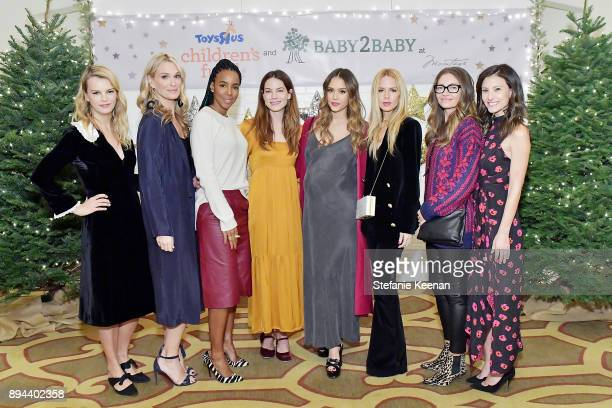 Kelly Sawyer Patricof Molly Sims Kelly Rowland Michelle Monaghan Jessica Alba Rachel Zoe Rebecca Gayheart and Norah Weinstein attend The Baby2Baby...