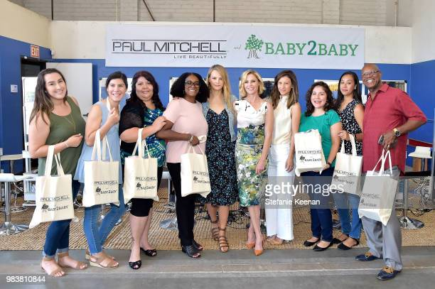 Kelly Sawyer Patricof Norah Weinstein Julie Bowen and Baby2Baby Social Workers attend Baby2Baby Partner Appreciation Day Presented By Paul Mitchell...