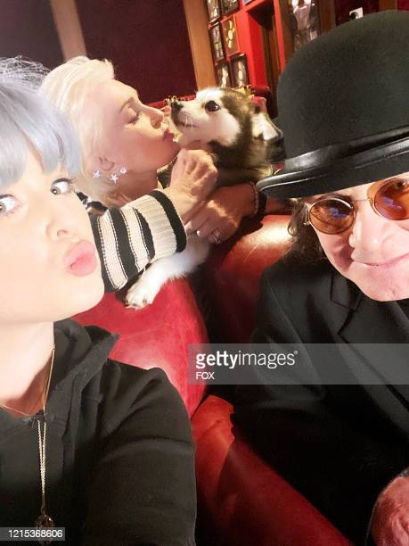 """Kelly, Sharon and Ozzy Osbourne in the Nobody Puts Celebrity in the Corner"""" episode of CELEBRITY WATCH PARTY airing Thursday, May 14 on FOX."""