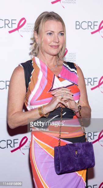 Kelly Shaughnessy attends the Breast Cancer Research Foundation 2019 Hot Pink Party at Park Avenue Armory Manhattan