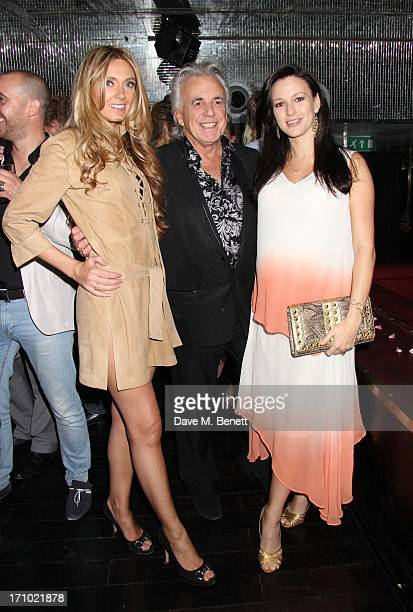 Kelly SimpkinPeter Stringfellow and wife Bella attend the launch party for the 'She Wears a Crown' fashion website at the Rose Club on June 20 2013...