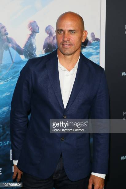 Kelly Slater attends HBO's 'Momentum Generation' premiere held at The Broad Stage on November 05 2018 in Santa Monica California