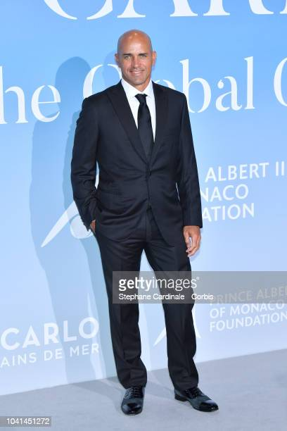 Kelly Slater attends the MonteCarlo Gala for the Global Ocean 2018 on September 26 2018 in MonteCarlo Monaco