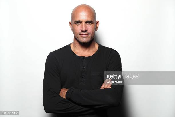 Kelly Slater poses for a portrait at the premiere of Proximity The Movie on May 11 2017 in Gold Coast Australia