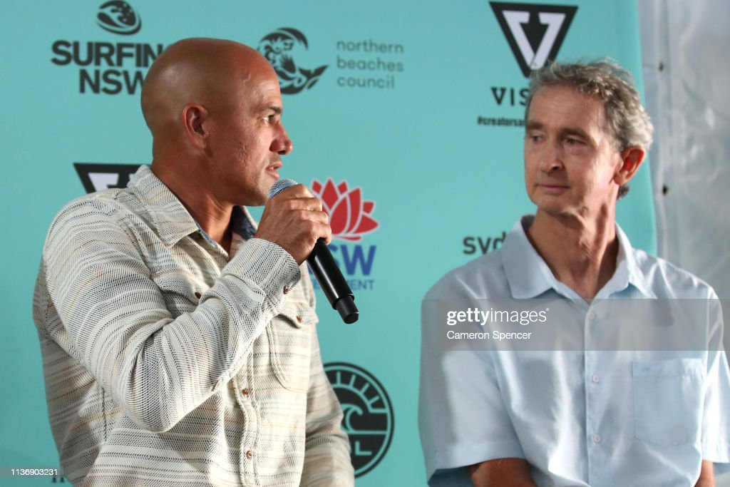 AUS: Kelly Slater at the Sydney Surf Pro