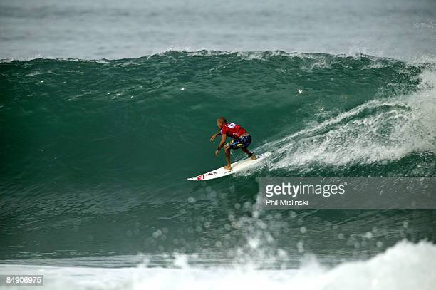 b50f335f4b3ba0 Kelly Slater takes a Back Door ride to a perfect 10 during the quarter  finals of