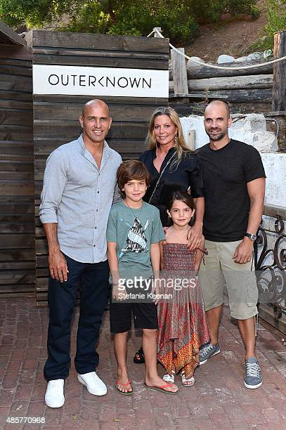 Kelly Slater Todd Hymel Natalie Hymel Jade Hymel and Tyler Hymel attend Kelly Slater John Moore and Friends Celebrate the Launch of Outerknown at...