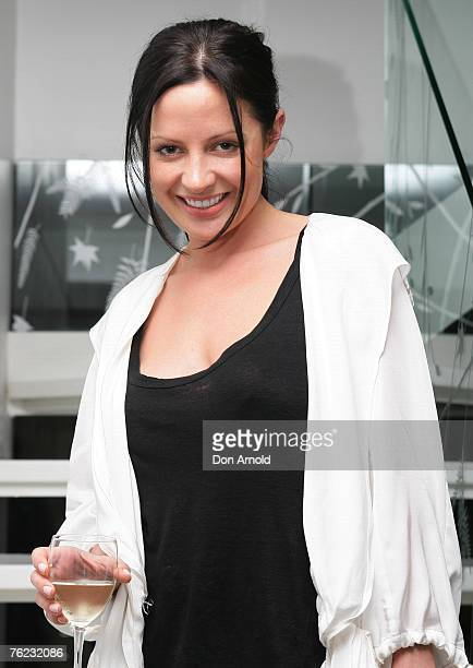 Kelly Smythe at the Camilla and Marc Swim Launch at Parlour X Paddington August 23 2007 in Sydney Australia