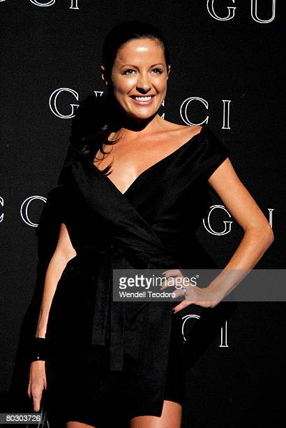 Kelly Smythe attends the launch for the Gucci Spring Summer 2008 Collection on March 19 2008 in Sydney Australia