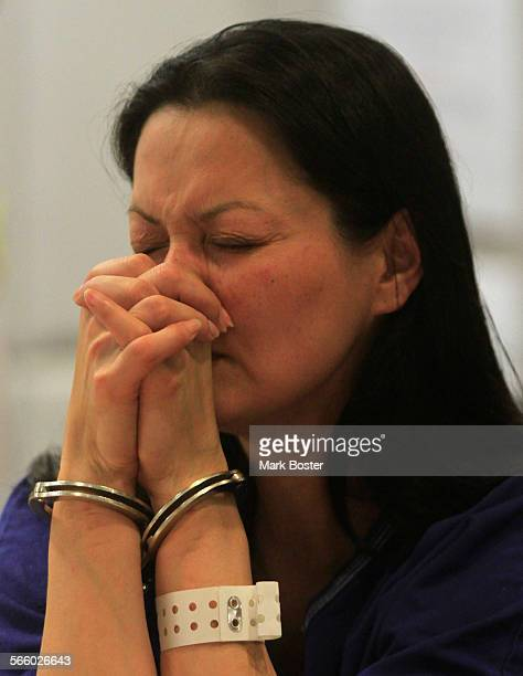 Kelly Soo Park who is charged with the murder of aspiring model Juliana Redding listens to Los Angeles County Superior Court Judge Keith L Schwartz...