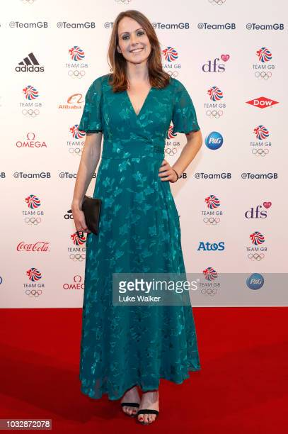 Kelly Sotherton attends The Team GB Ball 2018 held at The Royal Horticultural Halls on September 13 2018 in London England