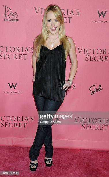 Kelly Stables arrives as the Victoria's Secret Supermodels Celebrate the Reveal of the 2010 What Is Sexy List Bombshell Edition at Drai's at W...