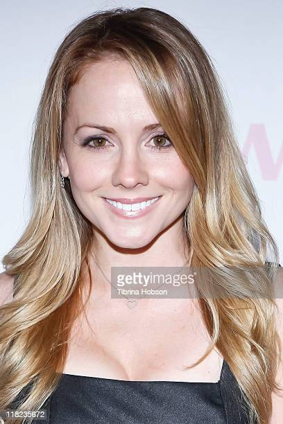 Kelly Stables arrives to the Nail Garden Brentwood Opening Party 2nd Annual Beauty For A Cause Spring Toy Drive at Nail Garden Brentwood on May 2...