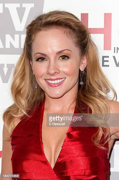 Kelly Stables attends the TV Land holiday premiere party for Hot in Cleveland The Exes at SD26 on November 29 2011 in New York City