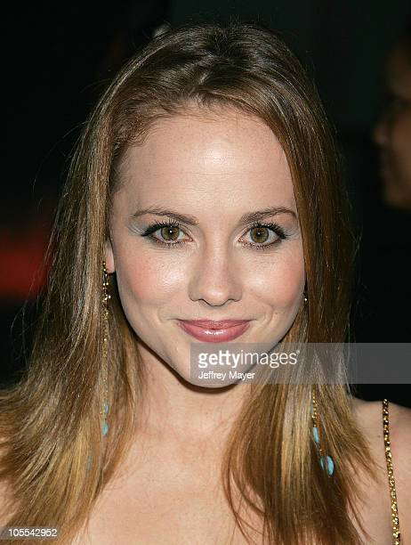 Kelly Stables during Cry Wolf Los Angeles VIP Premiere Arrivals at The Arclight Theaters in Hollywood California United States