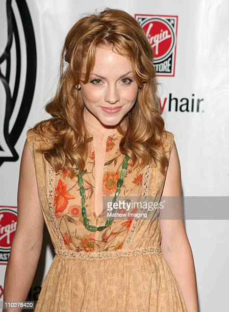 Kelly Stables during Virgin Girl Rocks Fashion Arrivals Inside and Press Conference at Virgin Megastore in Los Angeles California United States
