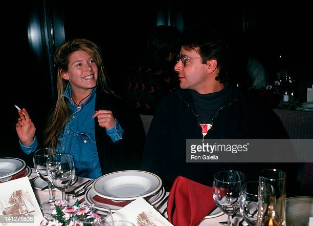 Kelly Stafford and Judd Nelson at the The Pepsi Celebrity Ski Invitational Corination Queens Ball Mt Saint Anne Quebec Mt Saint Anne