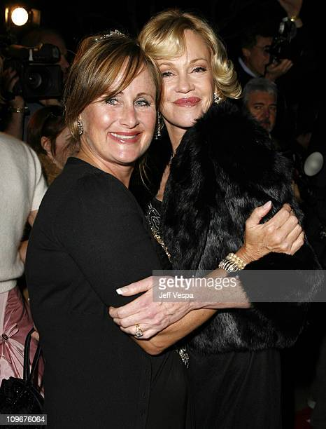 Kelly Stone and Melanie Griffith during Sharon Stone and Kelly Stone Host the 1st Annual 'Class of Hope Prom 2007' Charity Benefit Red Carpet and...