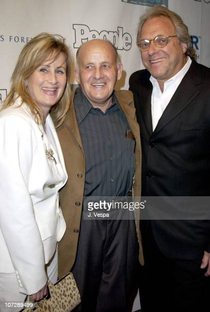 Kelly Stone, her father Joe and her husband Bruce Singer