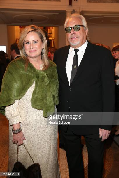Kelly Storm sister of Sharon Stone and her husband Bruce Singer during the Award Gala benefiting 'Planet Hope' foundation at Kempinski Grand Hotel...