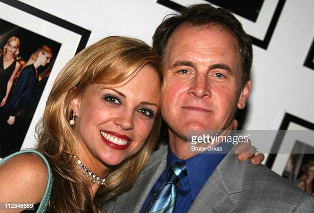 Kelly Sullivan and Mark Moses during Opening Night of 'Burleigh Grimes' OffBroadway at New World Stages Theater Complex in New York City New York...