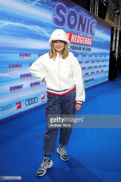 Kelly Svirakova attends the Special Screening of Sonic the Hedgehog at Zoo Palast on January 28 2020 in Berlin Germany
