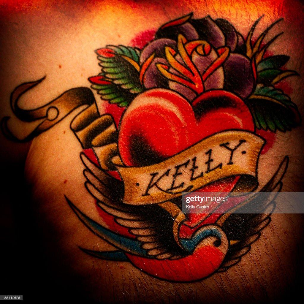 Kelly Tattoo : Stock Photo