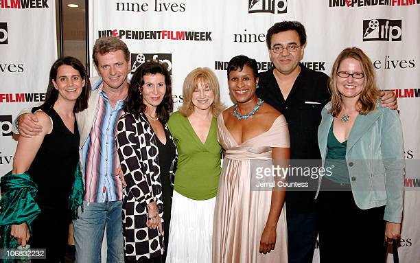 Kelly Thomas producer of Nine Lives Aidan Quinn Katherine Oliver of the New York City Film Commision Mary Kay Place Michelle Byrd Executive Director...