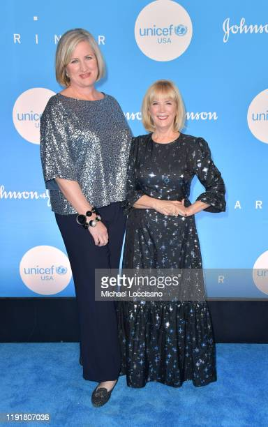 Kelly Thompson and Carol Hamilton at the 15th Annual UNICEF Snowflake Ball 2019 at 60 Wall Street Atrium on December 03 2019 in New York City