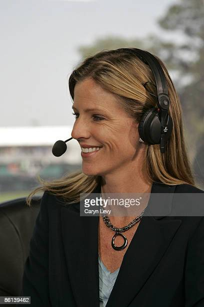 Kelly Tilghman during the second round of THE PLAYERS Championship held on THE PLAYERS Stadium Course at TPC Sawgrass in Ponte Vedra Beach Florida on...