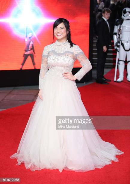 Kelly Tran attends the European Premiere of 'Star Wars The Last Jedi' at Royal Albert Hall on December 12 2017 in London England