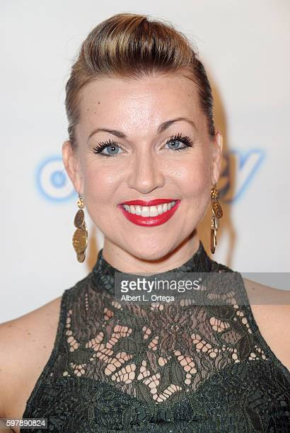 Kelly V Dolan of ABC Newsradio arrives for the Reading Of 'The Blade Of Jealousy/La Celsa De Misma' held at The Odyssey Theatre on August 29 2016 in...