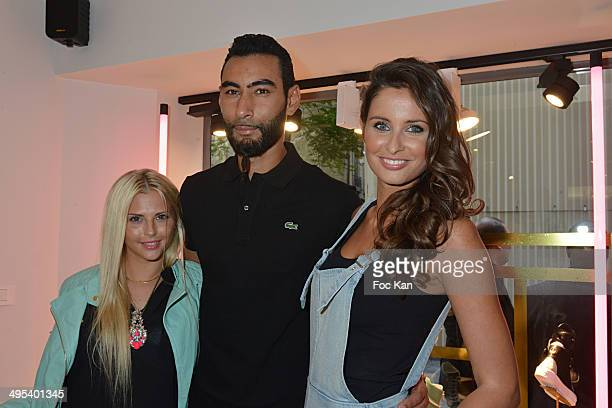 Kelly Vedovelli, La FouineÊand Miss France 2010 Malika Menard attend the Marion Bartoli By Musette Launches 'Premier Envol' Collection at Musette...