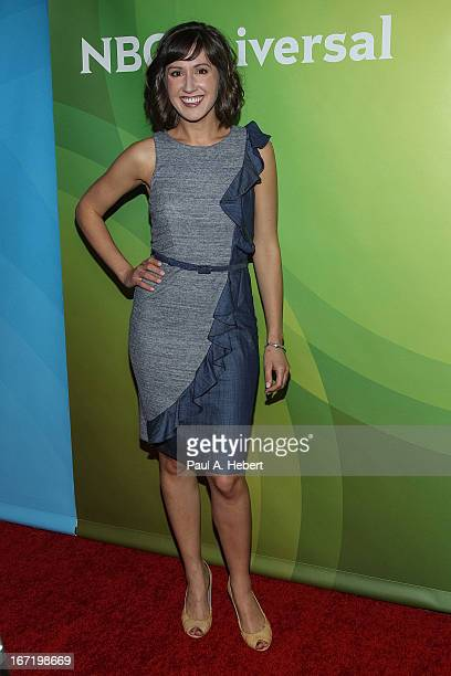Kelly Vrooman attends the 2013 NBCUniversal Summer Press Day held at The Langham Huntington Hotel and Spa on April 22 2013 in Pasadena California