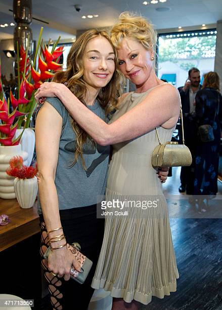 Kelly Wearstler and actress Melanie Griffith celebrate the launch of Regime des Fleurs perfume at Kelly Wearstler Flagship Boutique in Los Angeles...