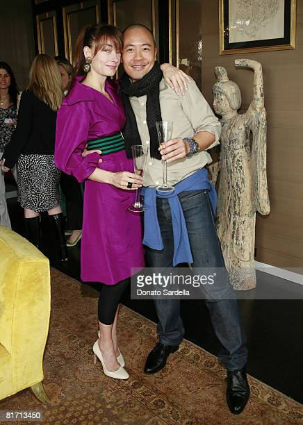 Kelly Wearstler and Derek Lam Photo by Donato Sardella/WireImage for Vogue and Voguecom