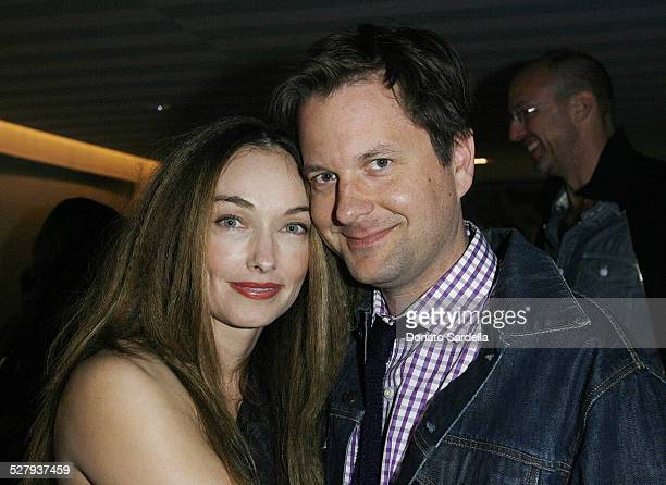 Kelly Wearstler and Nathan Turner attend Launch Party For HUE By Kelly Wearstler At The Avalon's Oliverio Restaurant on November 18 2009 in Beverly...