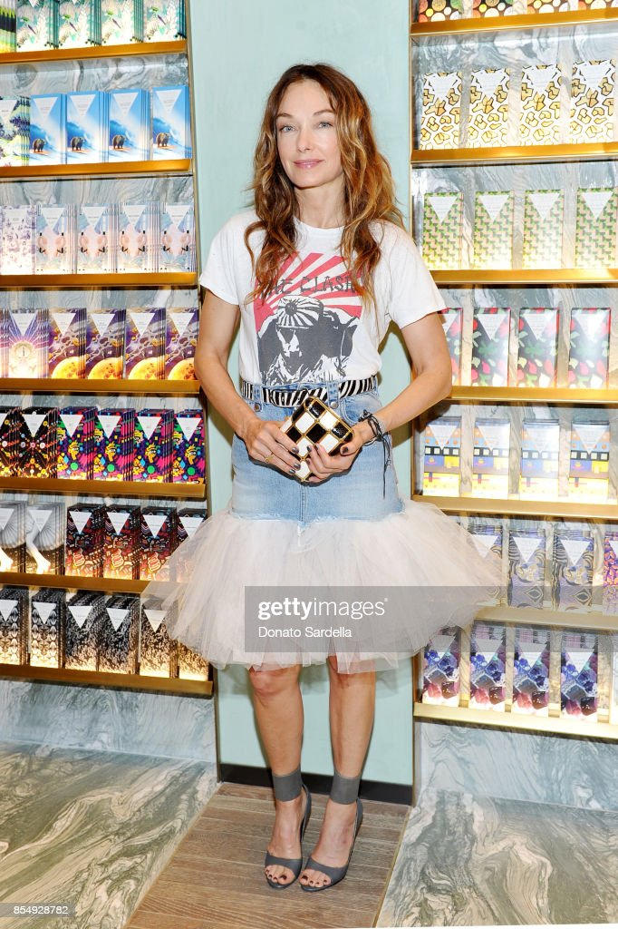 Kelly Wearstler celebrates the Compartes Chocolatier Century City Flagship Store Opening on September 27, 2017 in Los Angeles, California.