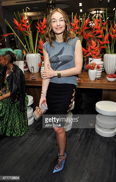 Kelly Wearstler celebrates the launch of Regime des Fleurs perfume at Kelly Wearstler Flagship Boutique in Los Angeles with PerrierJouet and...