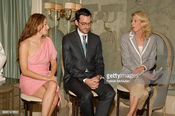 Kelly Wearstler Nicholas Manville and Susanna Salk attend HOUSE GARDEN Design Week present KELLY WEARSTLER at NYC on October 21 2007