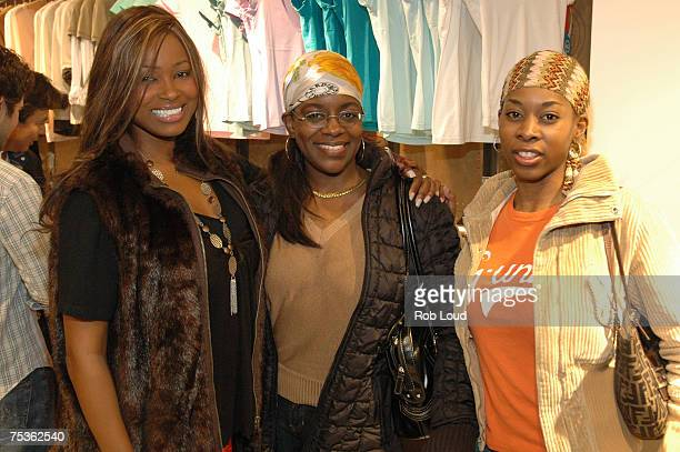 Kelly Womack Keisha Combs and Roszoo from MTV