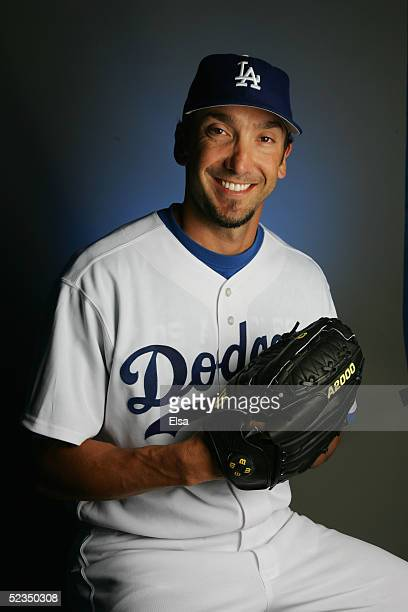 Kelly Wunsch of the Los Angeles Dodgers poses for a portrait during photo day on February 27, 2005 at Holman Stadium in Vero Beach, Florida.