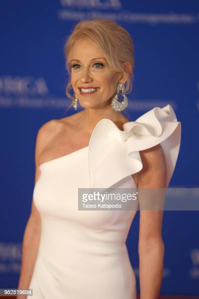 Kellyanne Conway attends the 2018 White House Correspondents' Dinner at Washington Hilton on April 28 2018 in Washington DC