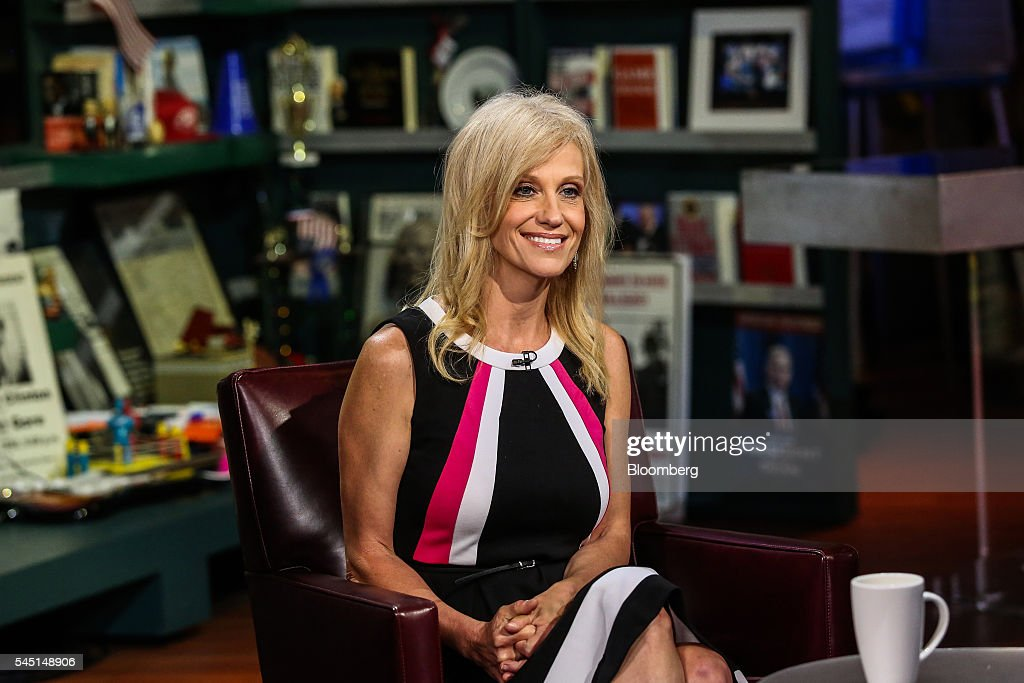 Polling Co. Inc./Woman Trend President And Chief Executive Officer Kellyanne Conway Interview : News Photo